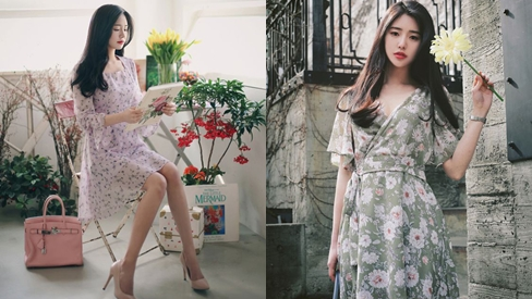 Tháng 3 đến rồi, đừng bỏ qua những mẫu váy hoa cực mát mẻ lại sành điệu này nhé
