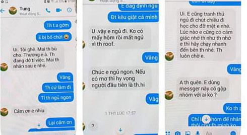 """Thầy giáo trường chuyên Thái Bình bị tố nhắn tin """"gạ tình"""" nữ sinh"""