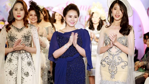 Doanh nhân - Nữ hoàng Hoa hồng Hương Queen đại náo ngày 8/3 với BTS dạ hội Herqueen cực tinh tế cho phái đẹp