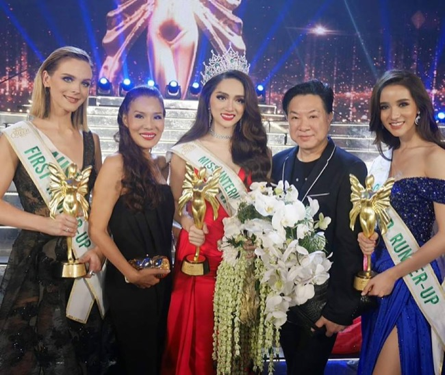 Nữ hoàng hoa hồng Bùi Thanh Hương đồng hành BGK Quốc tế của Queen of The Spa 2019-1