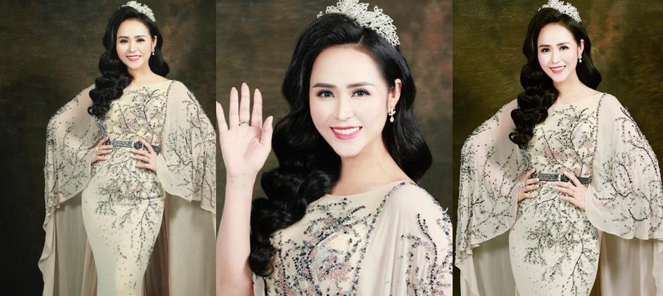 Nữ hoàng hoa hồng Bùi Thanh Hương đồng hành BGK Quốc tế của Queen of The Spa 2019-2