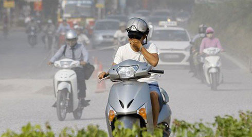 Hà Nội là thành phố ô nhiễm không khí thứ 2 ở Đông Nam Á, người dân có nguy cơ ung thư phổi