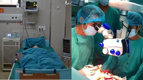 Phẫu thuật xuyên đêm nối liền cánh tay gần đứt rời cho nữ bệnh nhân