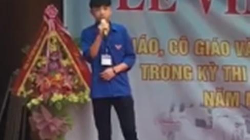 Nam sinh Thanh Hóa nổi như cồn với màn 'cướp hit' của Noo Phước Thịnh