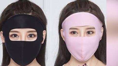 Loại khẩu trang ninja kín mít, chỉ chừa mỗi 2 con mắt đang làm cho hội chị em xôn xao