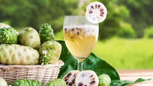 Nước ép trái nhàu giúp bạn tăng sức bền