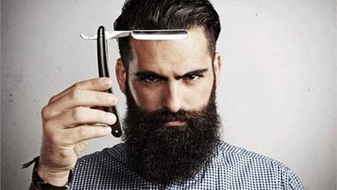 Khoa học chứng minh: Đàn ông râu rậm tóc dài thường có tinh hoàn bé nhất!