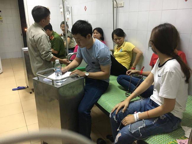 Sau bữa ăn trưa, gần 90 công nhân của công ty TNHH HaHae Việt Nam phải nhập viện cấp cứu-1