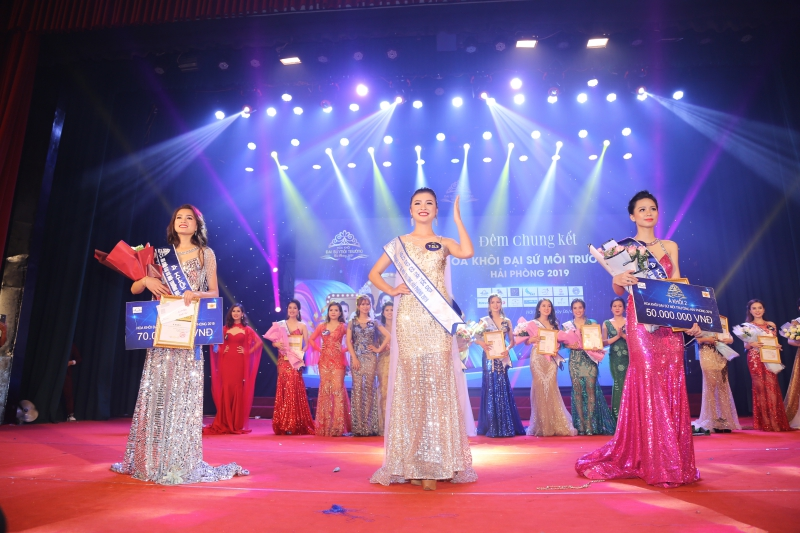 Ngôi vị á khôi đại sứ môi trường  Hải Phòng 2019 gọi tên Nguyễn Phương Hoa-8
