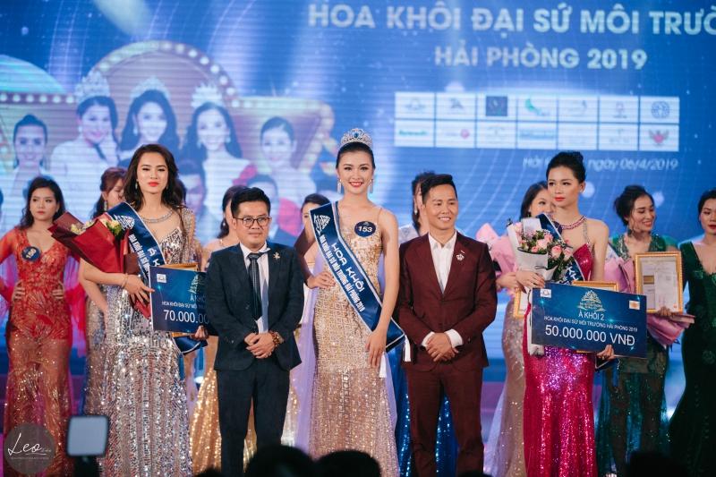 Ngôi vị á khôi đại sứ môi trường  Hải Phòng 2019 gọi tên Nguyễn Phương Hoa-1