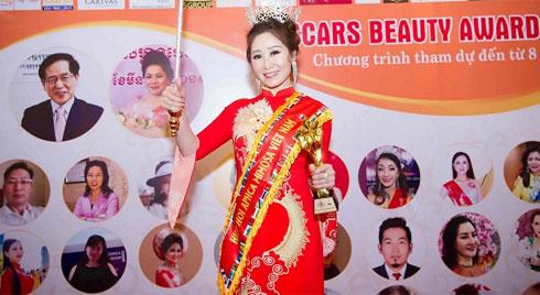 Doanh nhân Trần Thị Thanh Châu đăng quang Nữ hoàng ASEAN tại Oscars Beauty Awards 2019