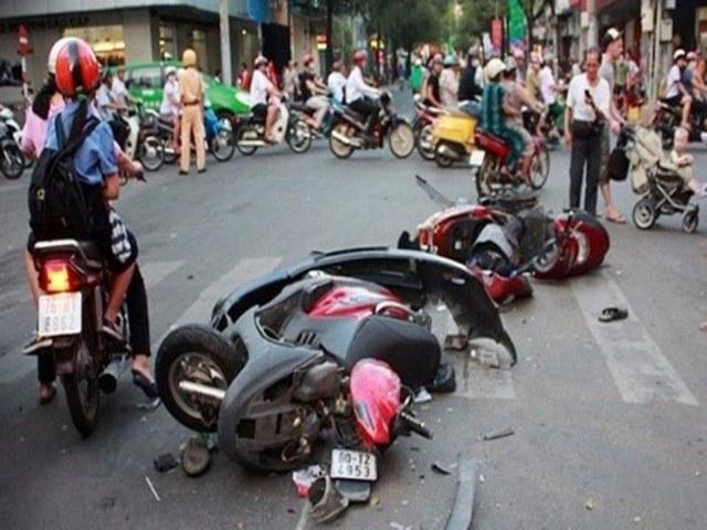 32 người thương vong vì tai nạn giao thông trong ngày đầu nghỉ lễ Giỗ Tổ-1