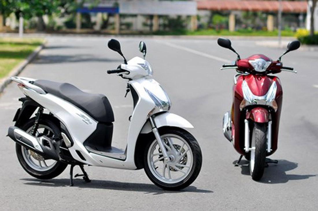 Giá xe máy tháng 4: Chênh cao nhất 17 triệu-1