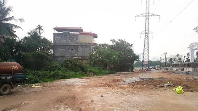 Cận dự án đường BT chưa động thổ, đất đối ứng đã rao bán-2