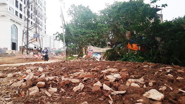 Cận dự án đường BT chưa động thổ, đất đối ứng đã rao bán-3