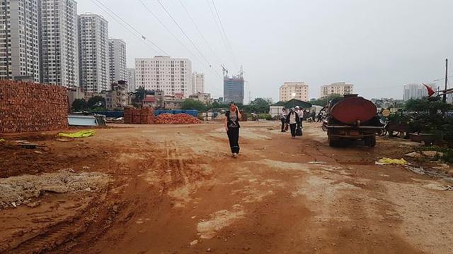 Cận dự án đường BT chưa động thổ, đất đối ứng đã rao bán-6