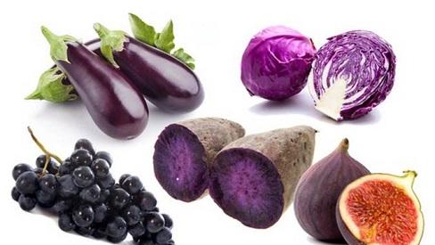 Những lý do bạn nên ăn nhiều trái cây và rau màu tím