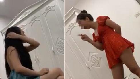Đánh ghen gay cấn như phim hành động: Chồng kéo lê vợ về nhà để bảo vệ bồ nhí