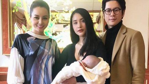 Sau nhiều cay đắng trong tình trường, Mai Hồ khoe hạnh phúc mới bên chồng điển trai và con gái mới sinh