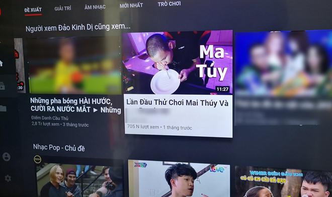 Sau Khá Bảnh, YouTube VN lại xuất hiện video hướng dẫn chơi ma túy-1