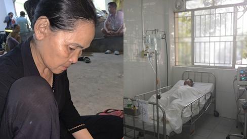 Con trai đang ăn cơm thì bình gas phát nổ làm bỏng nặng, mẹ nghèo bất lực gom góp tiền đóng viện phí cứu con