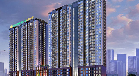 Hàng ngàn m2 đất công quận 7 biến thành chung cư cao cấp