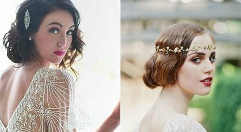 Đến ngày cưới mà tóc vẫn chưa dài, đừng lo 7 kiểu ngắn đẹp sau giúp cô dâu rạng rỡ hơn nhiều