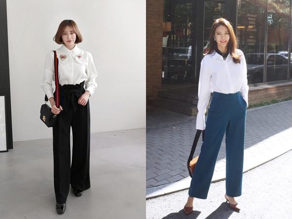 6 cách phối đồ cực sành điệu và thời trang chỉ với một chiếc áo sơ mi trắng-1