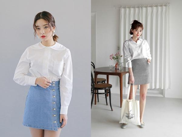 6 cách phối đồ cực sành điệu và thời trang chỉ với một chiếc áo sơ mi trắng-3