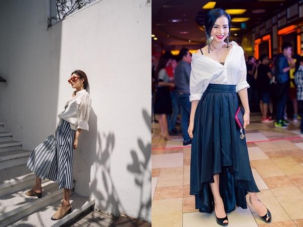 6 cách phối đồ cực sành điệu và thời trang chỉ với một chiếc áo sơ mi trắng-4