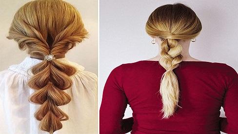 Các kiểu tóc tết vừa xinh vừa giúp tránh nắng nóng mùa hè