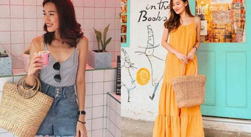 Mùa hè mà thiếu túi cói thì style của bạn cũng giảm đi vài phần thú vị