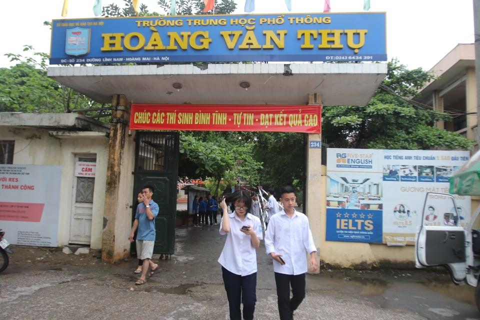Kỳ thi tuyển sinh vào lớp 10 Hà Nội: Đến chậm quá 15 phút không được dự thi-1