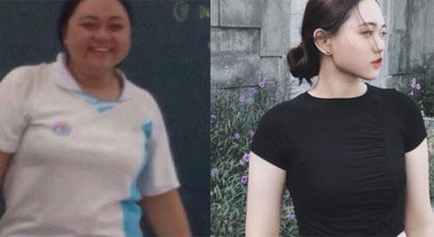 """Hành trình """"thổi bay"""" 40kg mỡ thừa của cô bạn 10x và bí quyết duy nhất cho những ai đang muốn giảm cân"""