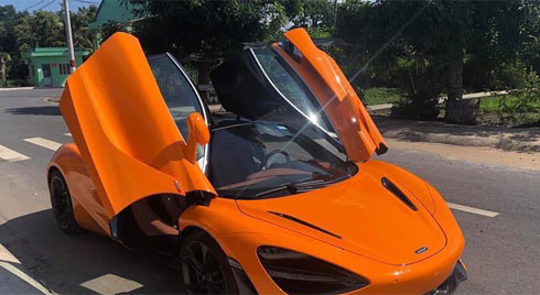 Cường Đô-la cấp tập ra biển cho McLaren 720S 24 tỷ mới tậu