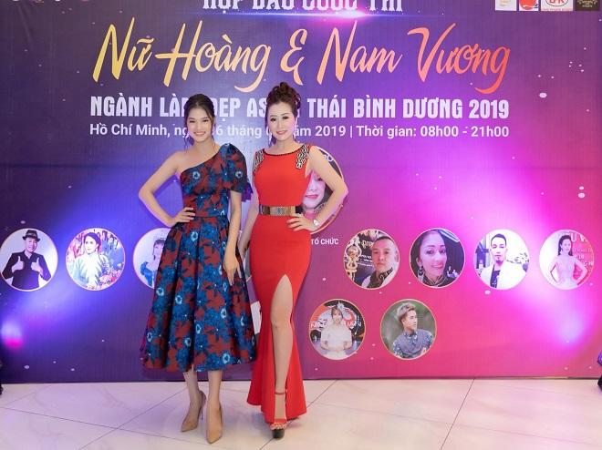 Nữ hoàng Trần Thị Thanh Châu tìm kiếm Hoa hậu, Nữ hoàng và Nam vương ngành làm đẹp APHCA ASEAN 2019-6