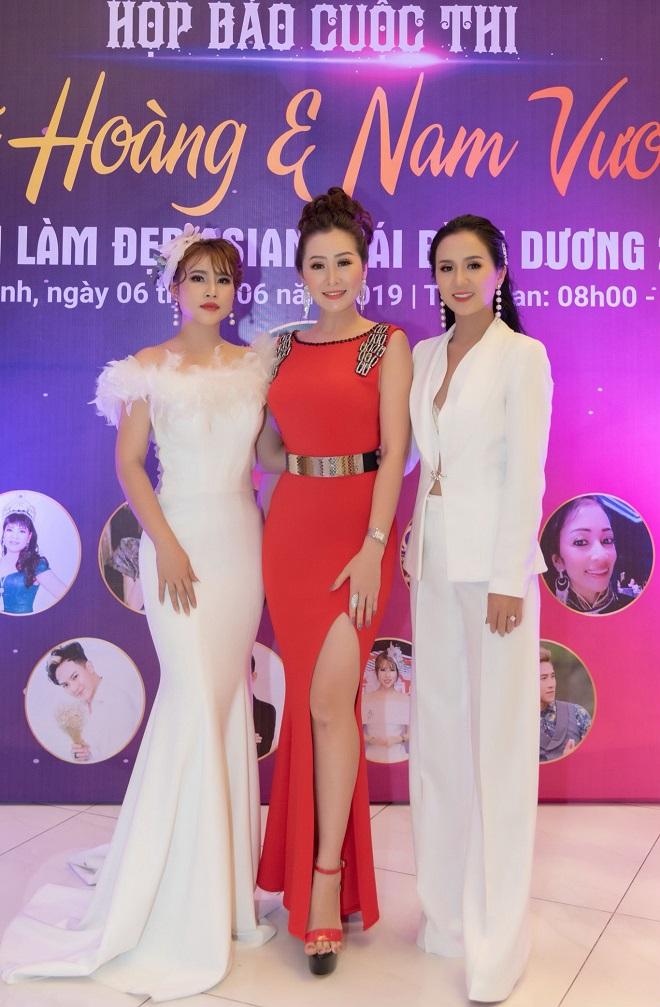 Nữ hoàng Trần Thị Thanh Châu tìm kiếm Hoa hậu, Nữ hoàng và Nam vương ngành làm đẹp APHCA ASEAN 2019-3
