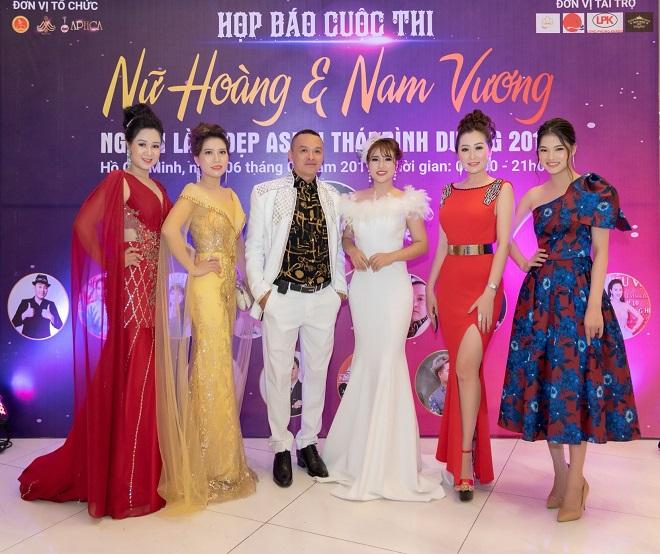 Nữ hoàng Trần Thị Thanh Châu tìm kiếm Hoa hậu, Nữ hoàng và Nam vương ngành làm đẹp APHCA ASEAN 2019-5