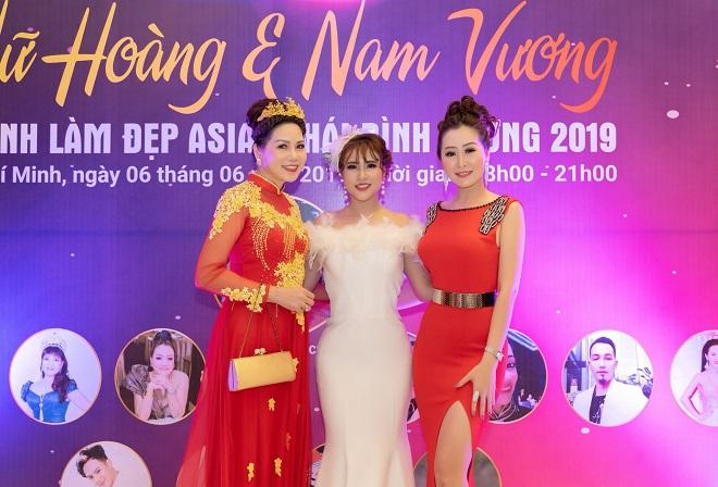 Nữ hoàng Trần Thị Thanh Châu tìm kiếm Hoa hậu, Nữ hoàng và Nam vương ngành làm đẹp APHCA ASEAN 2019-4