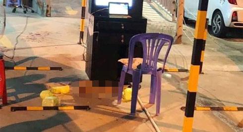 Một bảo vệ bị chém đứt lìa cánh tay nghi do mâu thuẫn chỗ đậu xe