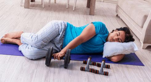Cách hết mất ngủ nhờ tập thể dục