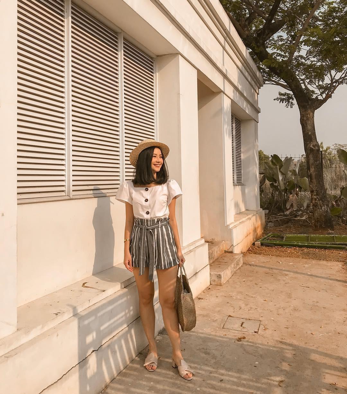 Như một thói quen: Ngày nắng nóng là chị em thi nhau lên đồ với 4 kiểu quần shorts xinh xắn, trendy này-15