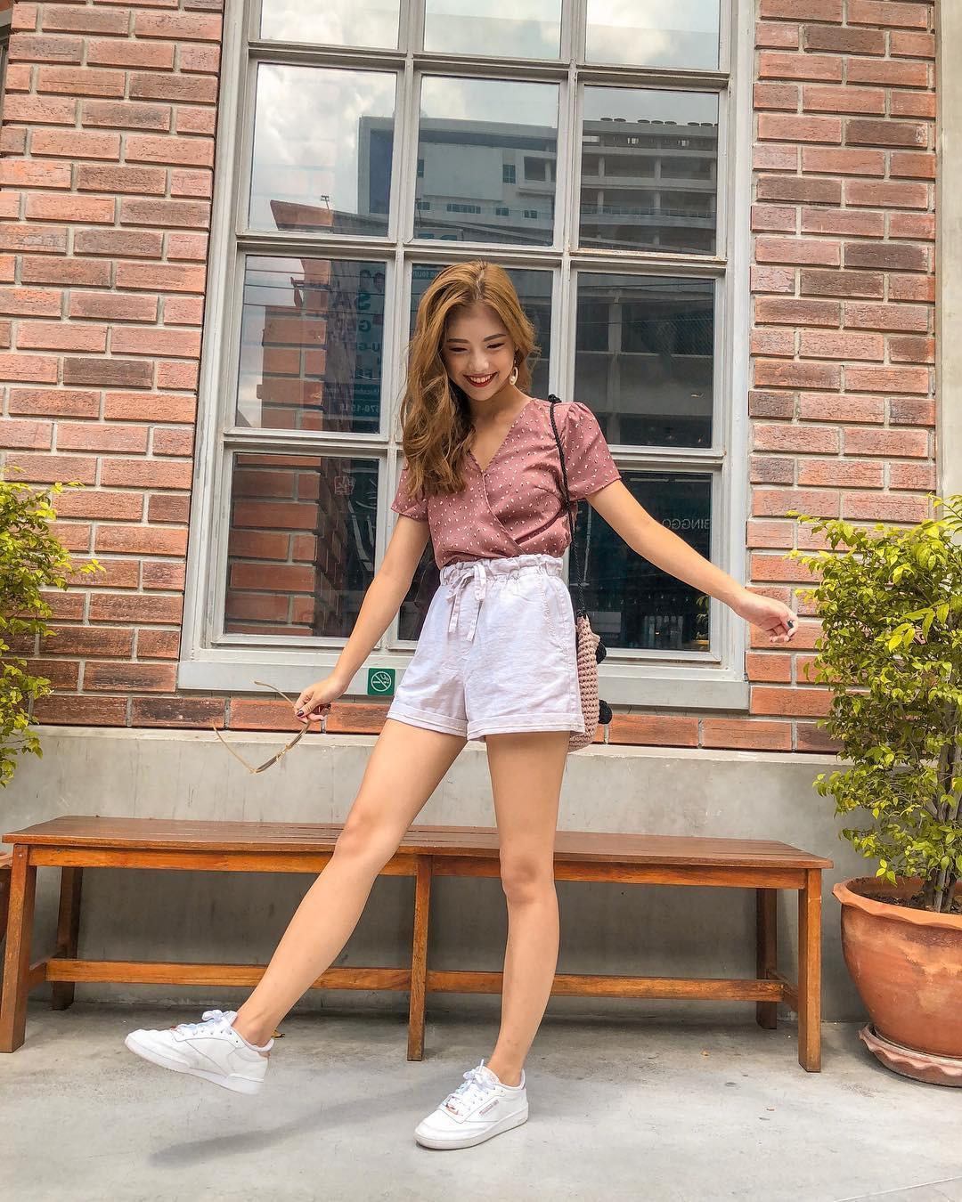 Như một thói quen: Ngày nắng nóng là chị em thi nhau lên đồ với 4 kiểu quần shorts xinh xắn, trendy này-5