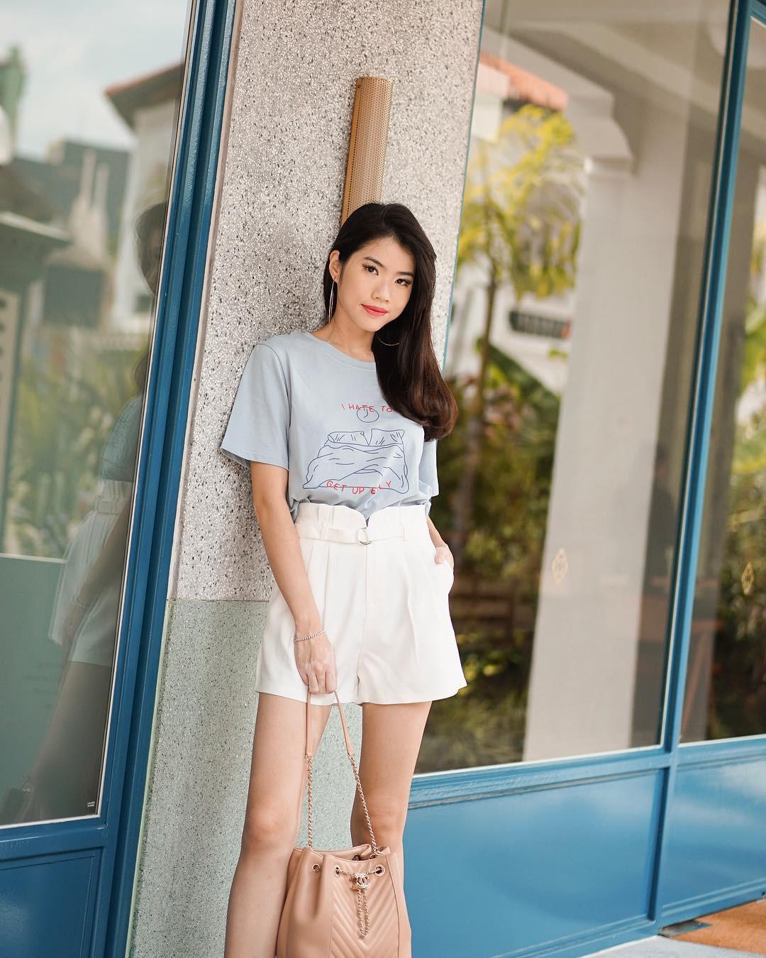 Như một thói quen: Ngày nắng nóng là chị em thi nhau lên đồ với 4 kiểu quần shorts xinh xắn, trendy này-6