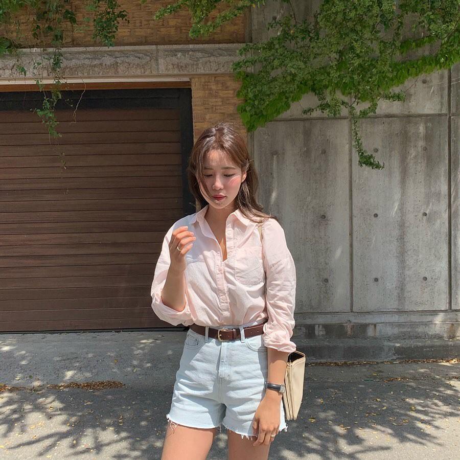 Như một thói quen: Ngày nắng nóng là chị em thi nhau lên đồ với 4 kiểu quần shorts xinh xắn, trendy này-1