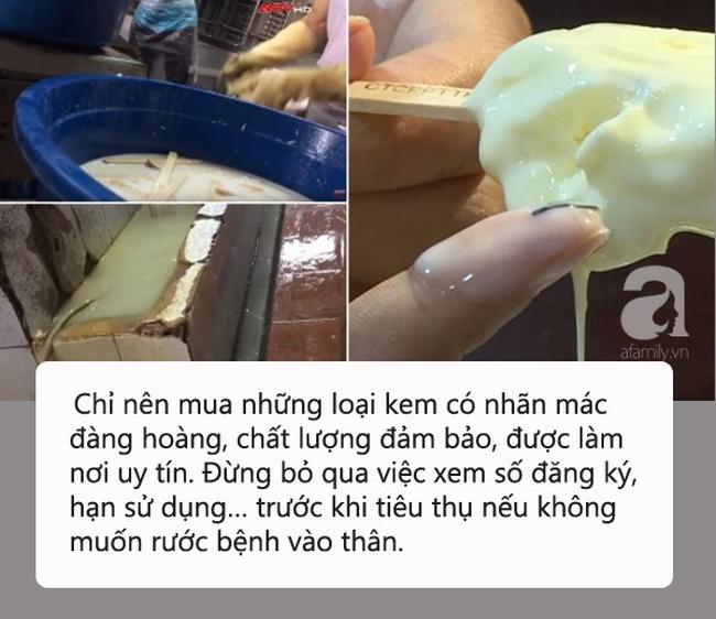 Kinh hãi quy trình sản xuất kem siêu bẩn tại Hà Nội: Coi chừng nhiễm melamin, ngộ độc vì chuộng ăn kem vị lạ giá rẻ!-1
