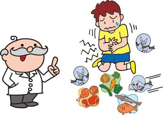 Xử trí đúng cách khi bị ngộ độc thực phẩm-1
