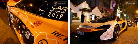 Dàn siêu xe hơn 300 tỷ rầm rộ tụ họp trên đường phố Hà Nội, Cường Đô La và vợ cũng xuất hiện với chiếc Audi R8V10-8