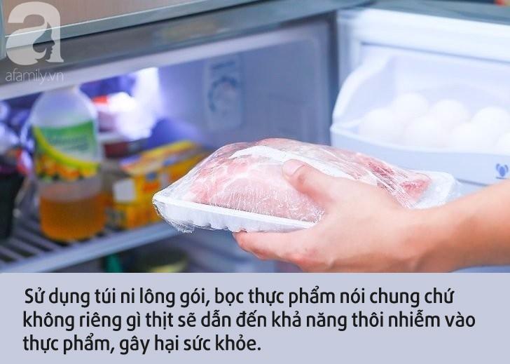 Đựng thịt vào thứ này rồi vô tư cho vào tủ lạnh bảo quản: Chị em tưởng tốt hóa ra lại khiến cả nhà mắc bệnh-3