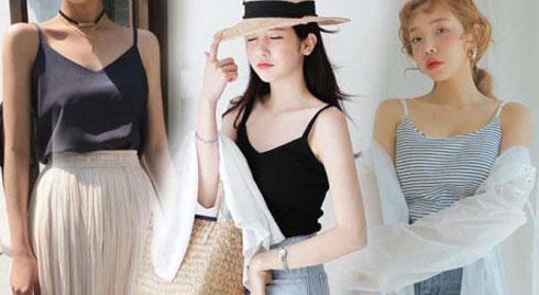 Mùa hè này, áo 2 dây có gì hot mà các nàng sành mặc lại mê mẩn đến thế?